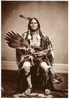 Flying Pipe, Yankton Sioux, 1872                                                                                                                                                                                 More