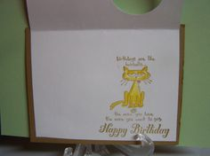 100_8763 -Peggy Wilson, Here's the inside of the card. Love this cute cat.