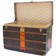 Louis Vuitton Steamer with MDC10 initials - Louis Vuitton - Brands - Vintage Luggage Company