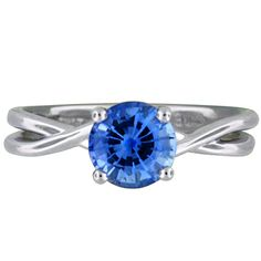 Would love this as my engagement ring sapphire celtic love knot ring