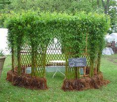 La vannerie au jardin http://www.vmvj.fr/la-vannerie-au-jardin/  saule tressé 버드나무 엮기