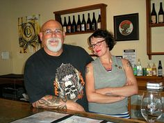 Mitch & Aleia - (Co-Conspirator and Accomplice) from Burning Tree Cellars.