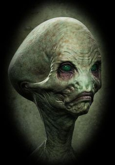 best art pics of aliens - Yahoo Image Search Results Les Aliens, Aliens And Ufos, Ancient Aliens, Alien Creatures, Fantasy Creatures, Mythical Creatures, Alien Concept, Concept Art, Zbrush