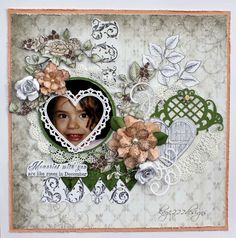 December Roses *Heartfelt Creations* - Scrapbook.com