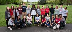 There's nothing quite like walking around with former First Lady Michelle Obama when she's meeting students for the first time. I've seen her stroll across College Signing Day, May 1, Group Photos, College Outfits, Michelle Obama, First Time, College Apparel, Lady, Photograph