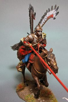 Pollish Hussar Model Cars Kits, Miniature Figurines, Military Uniforms, Reference Images, Toy Soldiers, Eastern Europe, Plastic Models, Statues, Wings