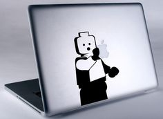 Lego Man MacBook Decal Perfect for customizing my MacBook