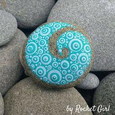 New Zealand Koru Painted Stone