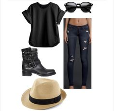 Perfect for shopping. Hipster outfit