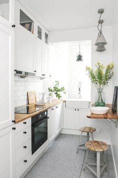 Luxury Scandinavian Kitchen Decor Ideas Bespoke kitchen designers, Papilio h… - Luxury Kitchen Remodel Small Kitchen Decor, Kitchen Remodel Small, Kitchen Design, Kitchen Decor, Modern Kitchen, White Kitchen Design, New Kitchen, Scandinavian Kitchen Design, Apartment Kitchen