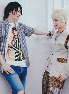 Tora. Hiroto. Alice Nine. why do i ship these two, though there's a 98% it wont happen...???? ;-;