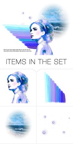"""Blue"" by greekmythology17 ❤ liked on Polyvore featuring art"