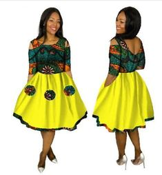 Robe Africaine Promotion Cotton African Dresses For Women In African Clothing 2018 New Style African Women Clothing Xhosa Attire, African Attire, African Wear, African Dresses For Women, African Women, Fashion Vestidos, Ankara Dress Styles, African Print Fashion, Ankara Fashion