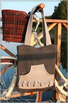 torba na zakupy, torba miejska z dresówki, 100% bawełna, produkt polski