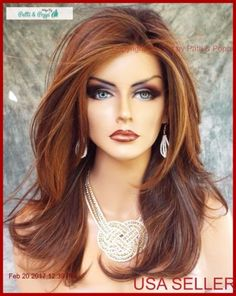 Two Fun and Beautiful Braided Hairstyles – HerHairdos Pelo Cafe, Medium Hair Styles, Long Hair Styles, Long Layered Haircuts, Beautiful Hair Color, Wig Styles, Ginger Hair, Synthetic Wigs, Color Shades