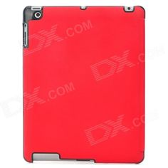 Brand: N/A; Quantity: 1 Piece; Color: Red; Material: PU Leather; Compatible Models: Ipad 3 / 4; Auto Wake-up / Sleep: YES; Other Features: Protects your device from shock scratch and abrasion; Packing List: 1 x Case; http://j.mp/1lksTVP