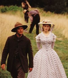 Jude Law (Inman) & Nicole Kidman (Ada Monroe) - Cold Mountain directed by Anthony Minghella (2003) Book by Charles Frazier #civilwar #northcarolina