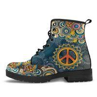 Colorful Peace Mandala
