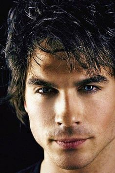 Those eyes!!! I honestly think this man could play Christian Grey. Ian S.