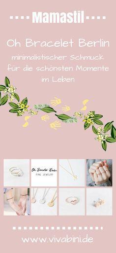 Das kleine Label Oh Bracelet Berlin macht minimalistischen, dezenten und personalisierten Schmuck mit kleinen Botschaften. Ketten, Armbänder und Ringe die uns ein Leben lang begleiten. #schmuck #jewellery #minimalistisch #personalisiert