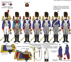 Napoleonic Grenadiers a Cheval uniforms