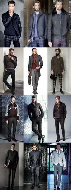 How To Wear Men's 2014 Autumn/Winter Checked Tailoring Trend: The Checked Trousers Lookbook Inspiration