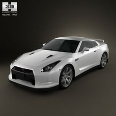 Nissan GT-R 3d model from humster3d.com. Price: $75