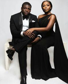 Absolutely stunning.  @boseojo.    Makeup by @banksbmpro. Captured by @lakinogunbanwo.    Dress by @peridotofficial.    #africansweetheartweddings