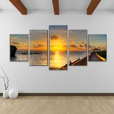 <li>Artist: Bruce Bain</li><li>Title: Keys Sunrise</li><li>Product type: Gallery-wrapped Canvas</li>