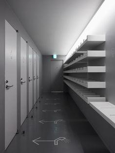 Hiromura Design Office – 9h (Nine Hours) Capsule Hotel, Kyoto, 2009