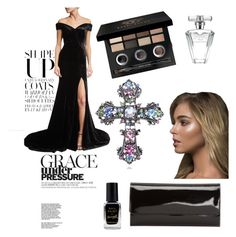 """Untitled #38"" by andre-gabriela ❤ liked on Polyvore featuring Rachel Gilbert, P. Sherrod & Co., Barry M, Avon and Bobbi Brown Cosmetics"