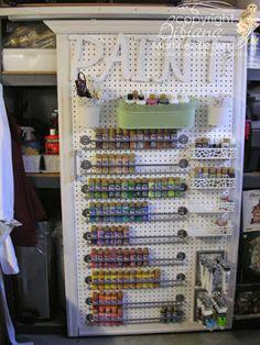 with Bibiana: How to organize your Acrylic Bottle Paints!Stamping with Bibiana: How to organize your Acrylic Bottle Paints! Acrylic Paint Storage, Acrylic Paint Bottles, Craft Paint Storage, Paint Organization, Acrylic Craft Paint, Bottle Painting, Organization Skills, Organisation Ideas, Painted Bottles
