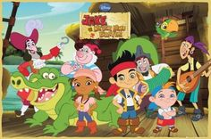 Jake and The Neverland Pirates TV
