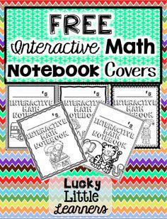 http://www.teacherspayteachers.com/Product/FREE-Interactive-Math-Notebook-Covers-1363148