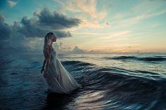 """The Desperate Bride"" — Photographer: Marc Lamey Model: Kasey Kayde"
