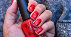 OPI A Oui Bit Of Red