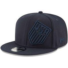 US Soccer New Era Y2K Shimmer Snapback Adjustable Hat - Navy Patriots  Snapback 7ddeff088307