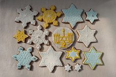 Star of David Gingerbread Series | Cookievonster Design 2009… | Flickr