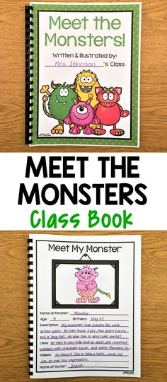 These cute monster writing prompts are great to use during the Halloween season, but can be used anytime during the year as well. They are perfect to spark your kids' creativity and help them get excited about writing! There are four different prompts to choose from so you can select the one(s) that best match the ability level of your class. You could also put all of them in your writing center and let the children pick which one they want.