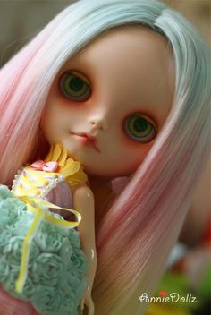 Anniedollz Custom Blythe