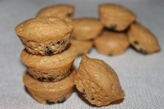 Peanut Butter Chocolate Chip Muffins! High protein, low fat, low bar, and very tasty!!
