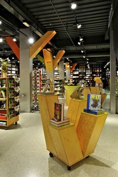 Tanum Karl Johan bookstore flagship by JVA, Oslo store design - #retail                                                                                                                                                                                 More