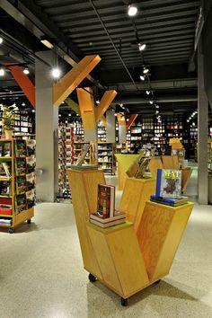 Tanum Karl Johan bookstore flagship by JVA, Oslo store design - #retail