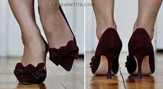The bows on the Manolo's give me ideas...
