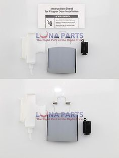 Parts and Accessories 71259: Genuine 8201649 Whirlpool Ice Dispenser Door Chute Repair Kit W10823377 Ps897356 -> BUY IT NOW ONLY: $39.33 on eBay!