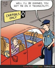 Carpools … hmmm… now there's an idea.