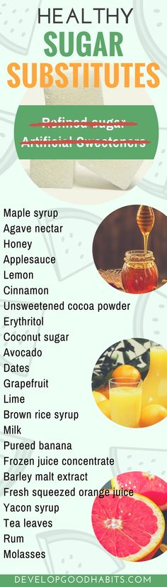 Healthy sugar substitutes | Substitutes for sugar | sugar alternatives #health #healthyliving #healthyeating