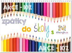 Zpátky do školy s Nemravkou! Nyní s 10% slevou!! Art Supplies