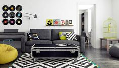 The Small Yellow 45 sqm Apartment | Living Room