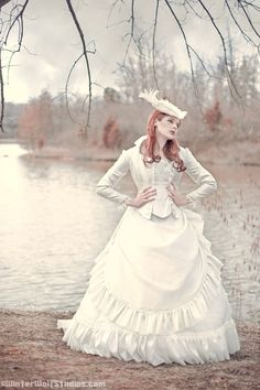 victorian wedding pictures | Victorian Wedding Dress: Romantic Threads (photo by Winter Wolf ...